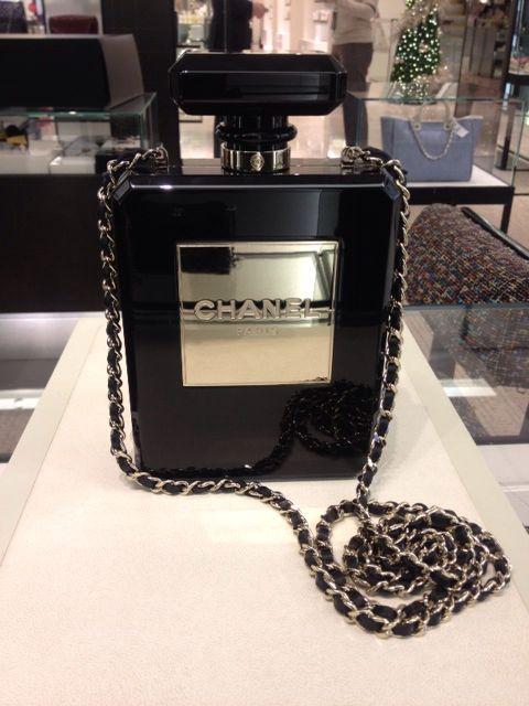 9cb7543b5ab0 Chanel perfume bag