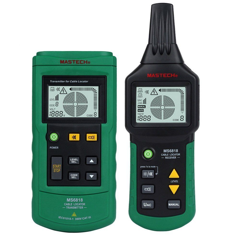 Seesii MS6818 Professional 12~400V AC/DC Wire Cable Tracker Metal ...