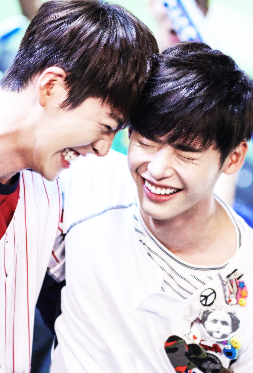 jong suk and woo bin dating