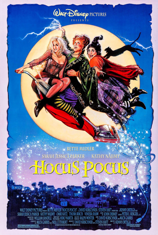 Hocus Pocus (1993) [1997 x 2966] Hocus pocus movie, Best