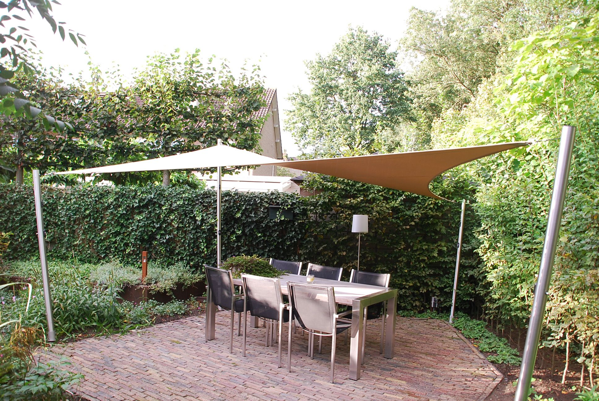 Vrijstaande terrasoverkapping op maat gemaakt for Huis waterdicht maken