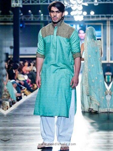 Age 4 To 5 Size Boys Kurtha Indian Sherwani Kurta Dhotti Turq Green Cream White
