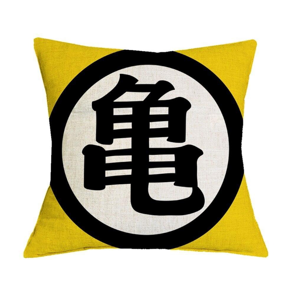 Dragon Ball Z Pillowcase Master Roshi S Kanji Dragon Ball Z Dragon Ball Linen