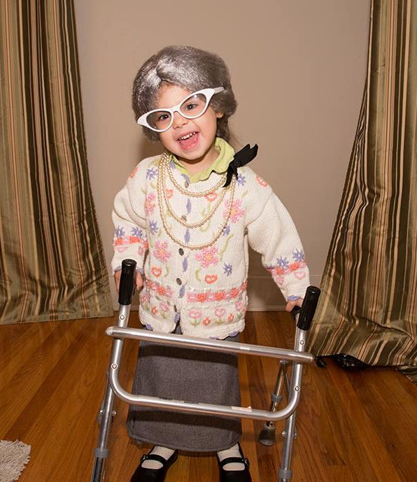 DYI Old Lady Follow Refined Reverie for daily Halloween costume - ladies halloween costume ideas