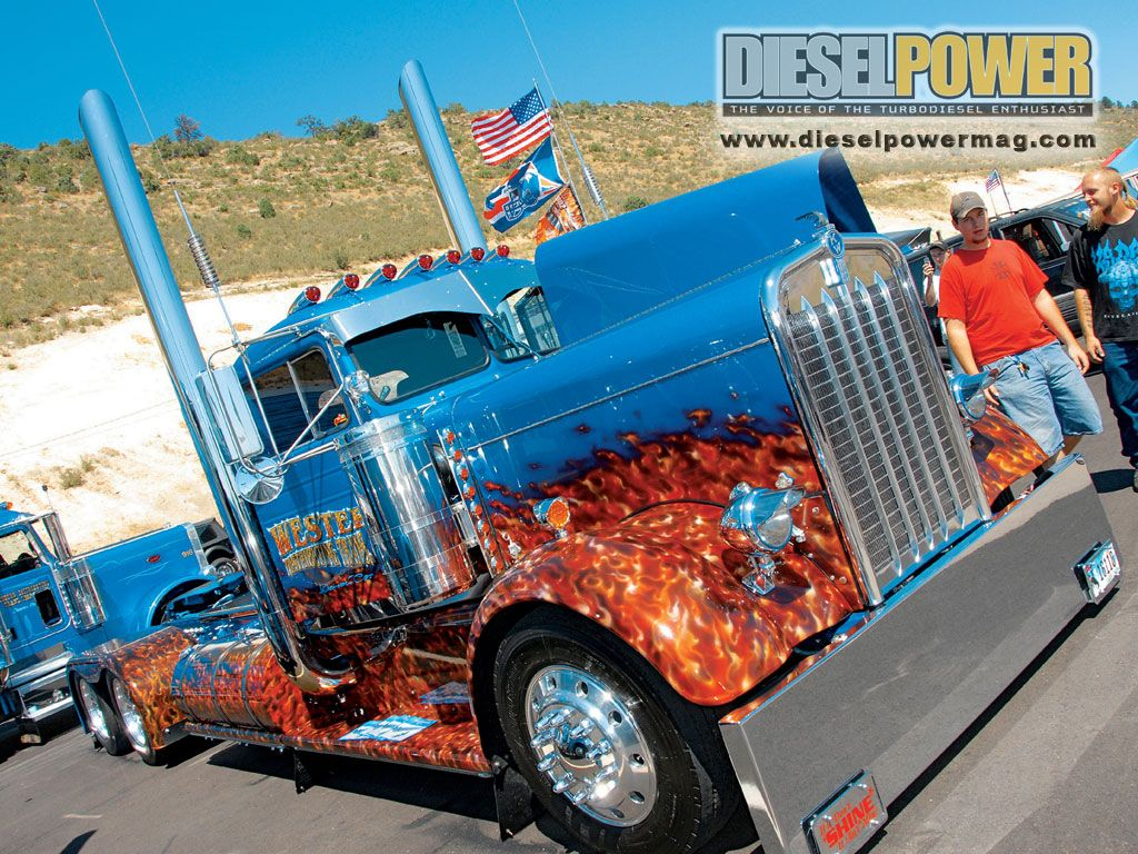 Post Up Some Custom Big Rigs With Images Custom Big Rigs Big