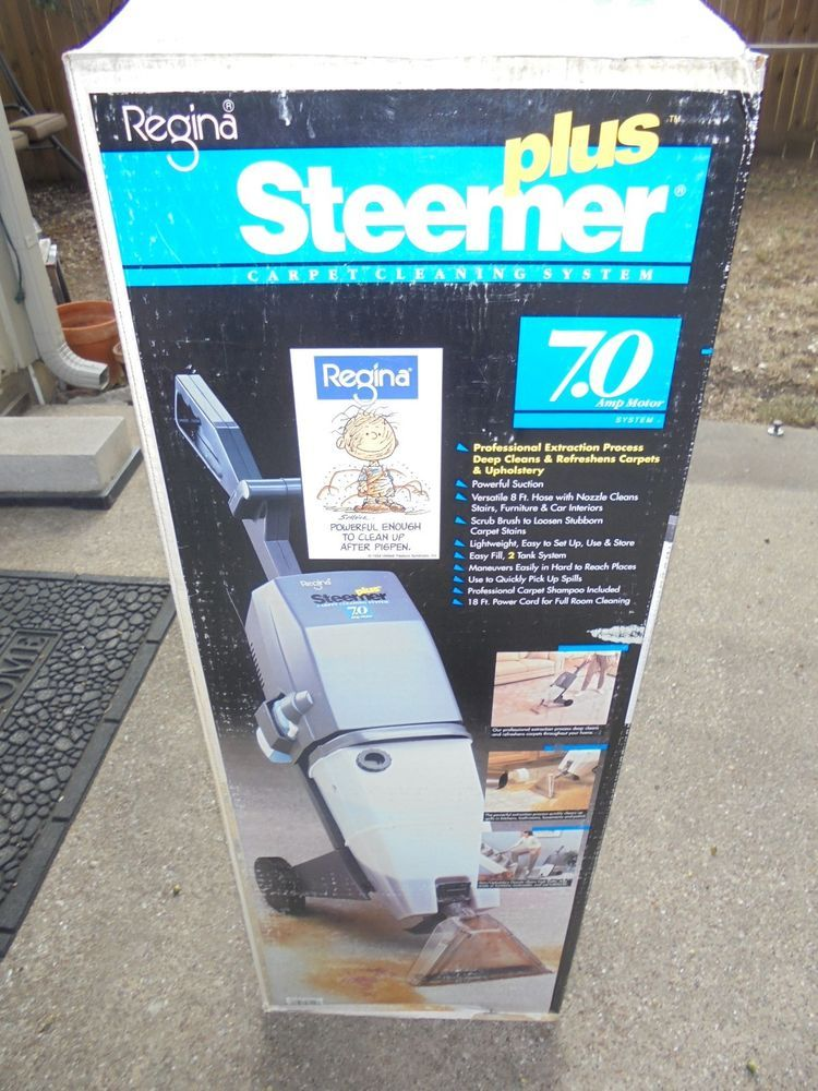 Regina Steemer Carpet Cleaner Troubleshooting Lets See
