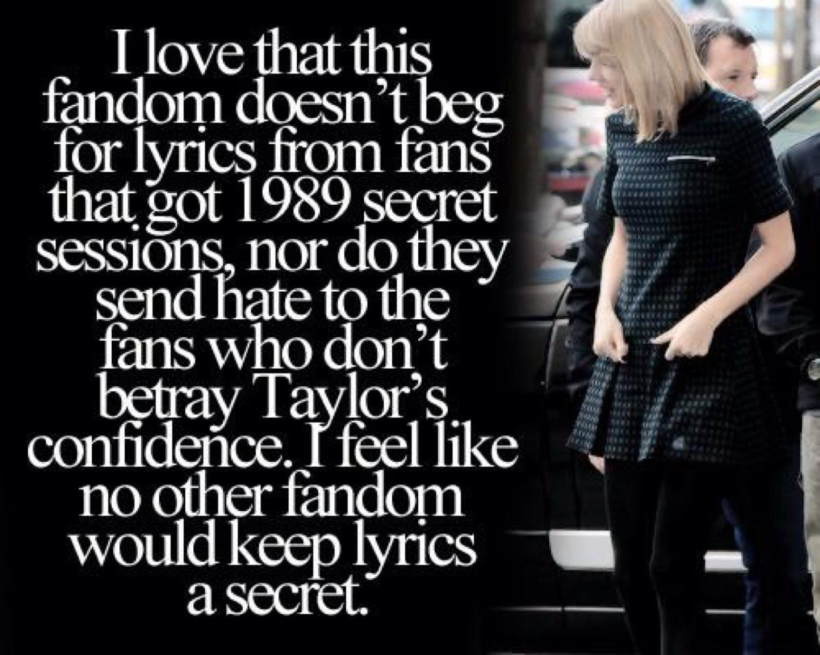 I was thinking about this the other day! Meeting Taylor just seems like such a gold opportunity, even though I'm jealous out of my mind, I can't help but feel so happy and excited for other Swifties who have gotten to meet her! I guess that just proves that we truly are the greatest fan base!