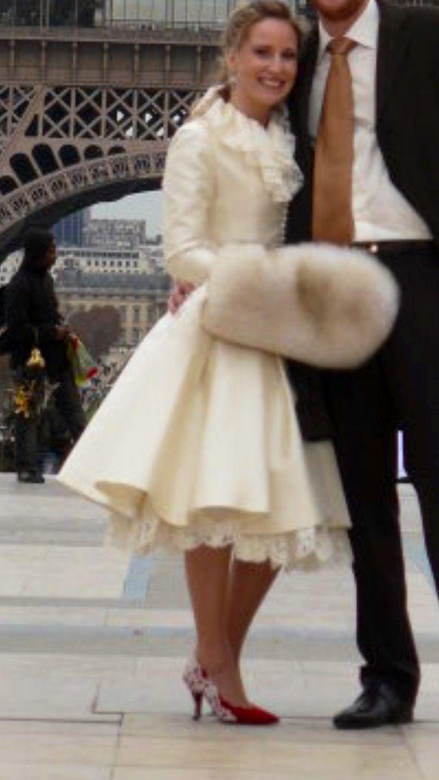 Civil wedding dress | Winter civil wedding | Pinterest | Civil ...