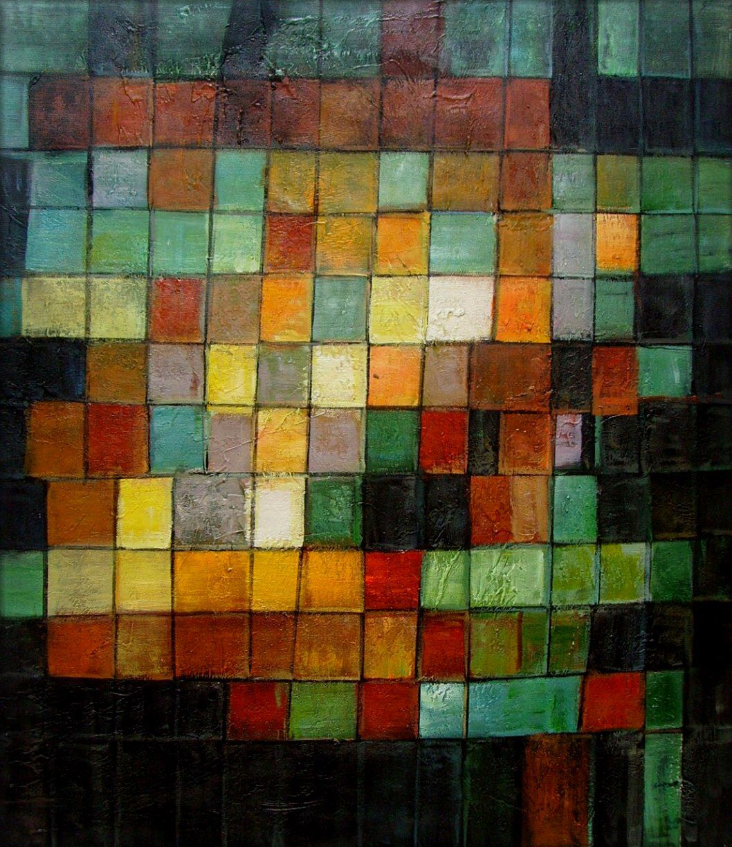 Paul Klee Ancient Sound Abstract Black 1925