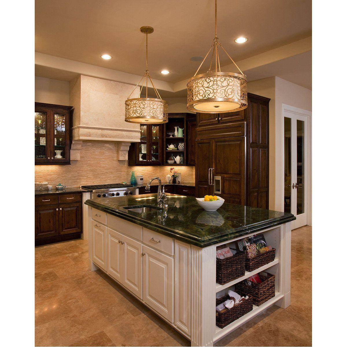 Xo Kitchen: Feiss Arabesque 4 Lights Shade Pendant