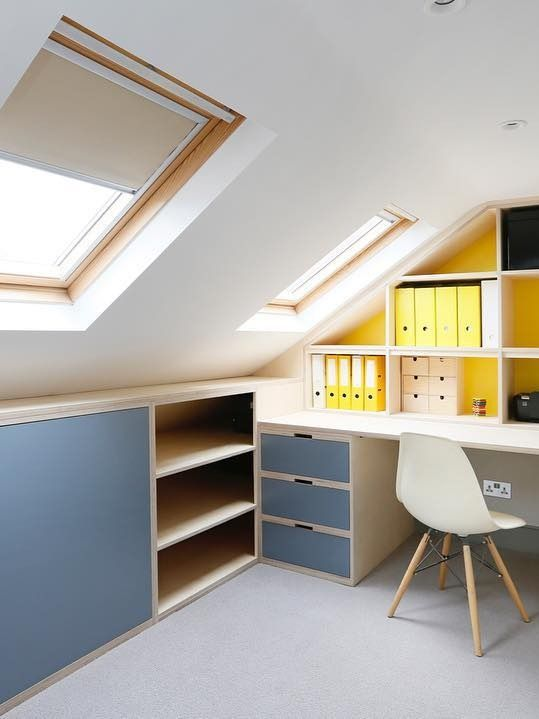 Fitted Furniture - Study & Home Office - Alcove Designs, London