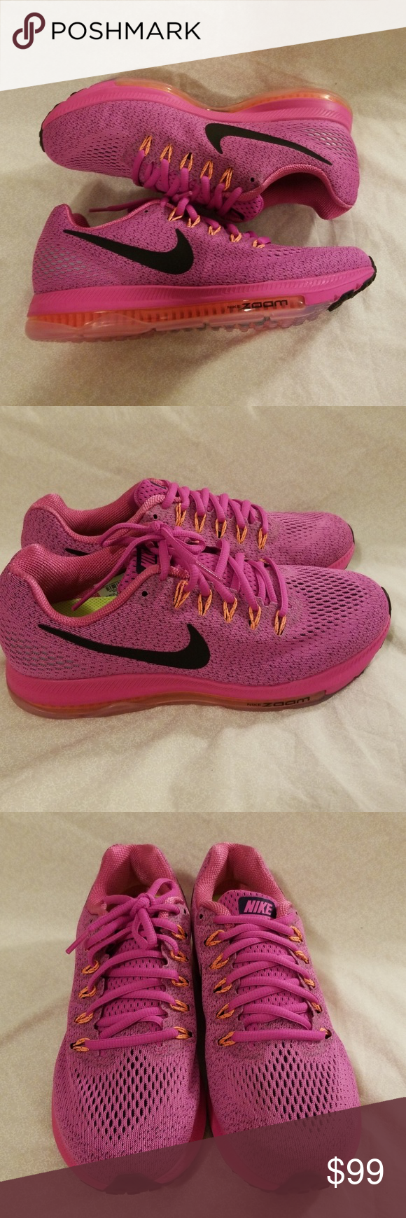 780abbf5079a6 Nike Wmns Zoom All Out Low Running Shoes NWOB Nike Womens Zoom All Out Low  Size: 9 Fire Pink/Black- Bright Mango 878671 600 Msrp: $160.00 Nike Shoes  ...