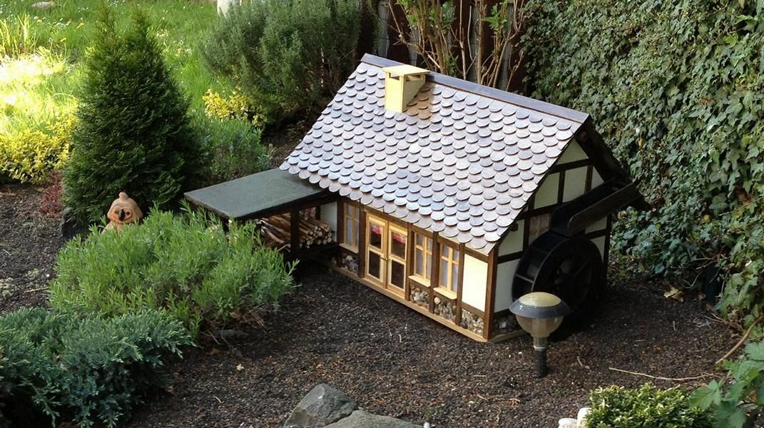 Wassermühle Bauanleitung zum selber bauen
