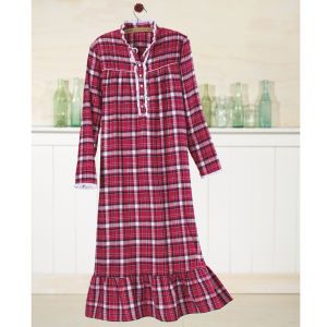 157c70d45e Long Flannel Nightgowns for Women