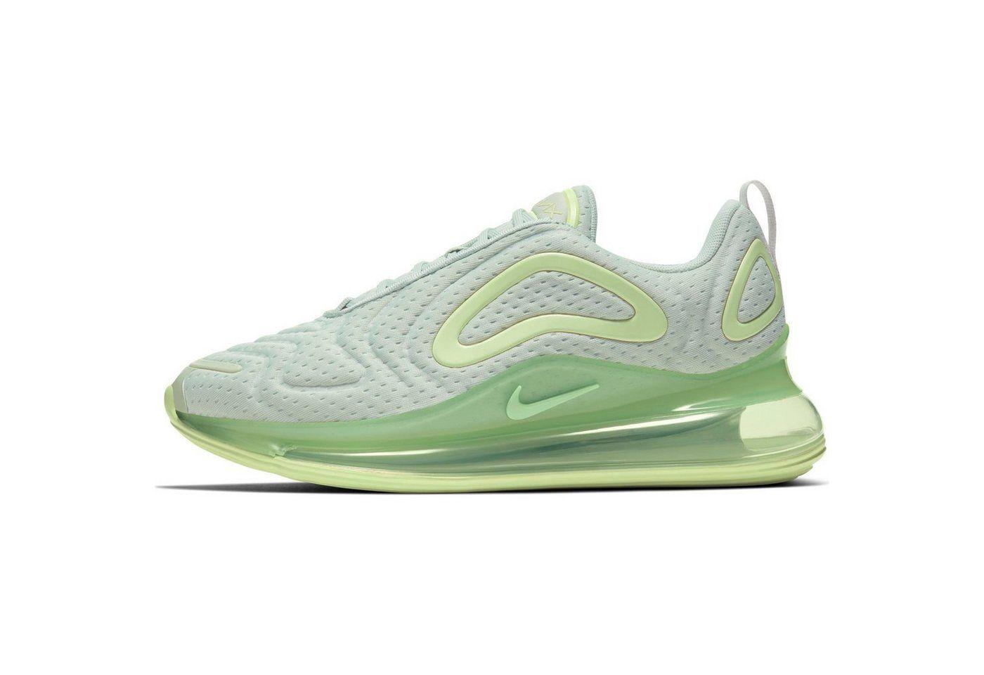 Nike AIR MAX 720. Futuristische Sneaker sehr hohem