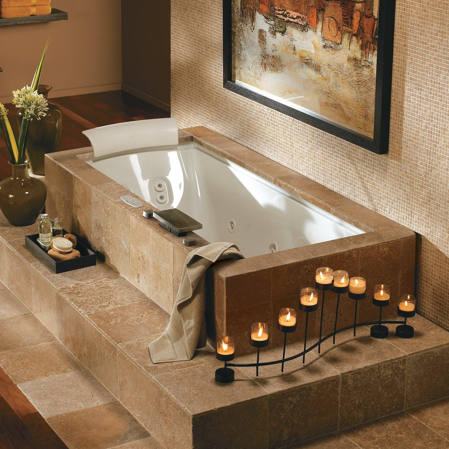 Bathroom Jacuzzi Tub jacuzzi whirlpool fuz7236w fuzion undermount drop-in tub at atg
