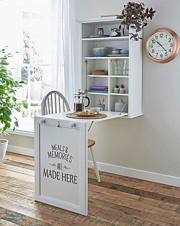 Photo of Wall Mounted Foldable Kitchen Table