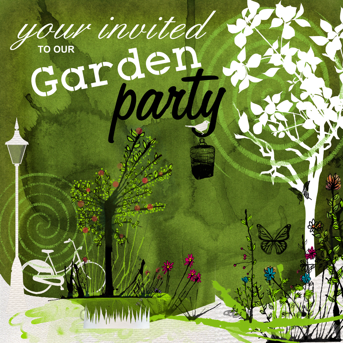 17 Best 1000 images about Design Secret Garden Theme Invite on