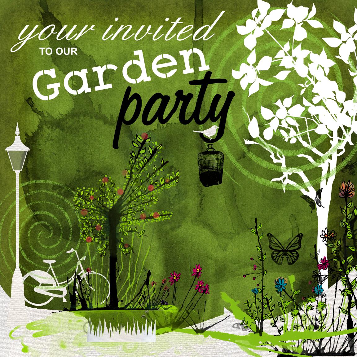 Garden Party | Design // Secret Garden Theme Invite | Pinterest ...