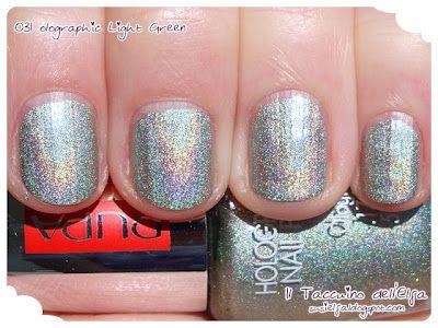 Holographic Nail Polish @PUPA MILANO Collezione completa