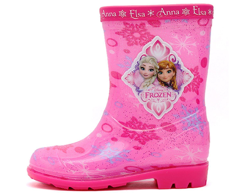 Joah Store Disney Frozen Elsa Anna Girl's Pink Diamond Rain