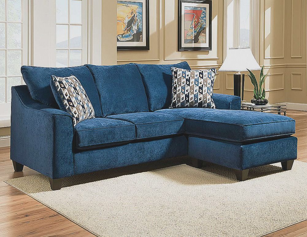 Luxury Contemporary Blue Velvet Sectional Sofa Furniture Design