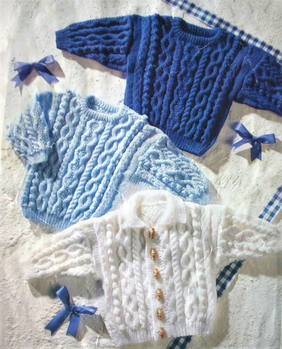 Instant PDF Digital Download Vintage Knitting Pattern Baby Toddler ...