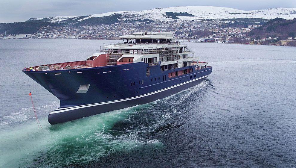 Perfekt sjøsetting ved Kleven 2016 nyheter Maritimt