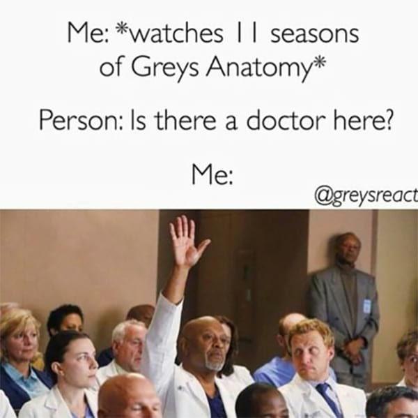 "19 Jokes Only ""Grey's Anatomy"" Fans Will Get #greysanatomy"