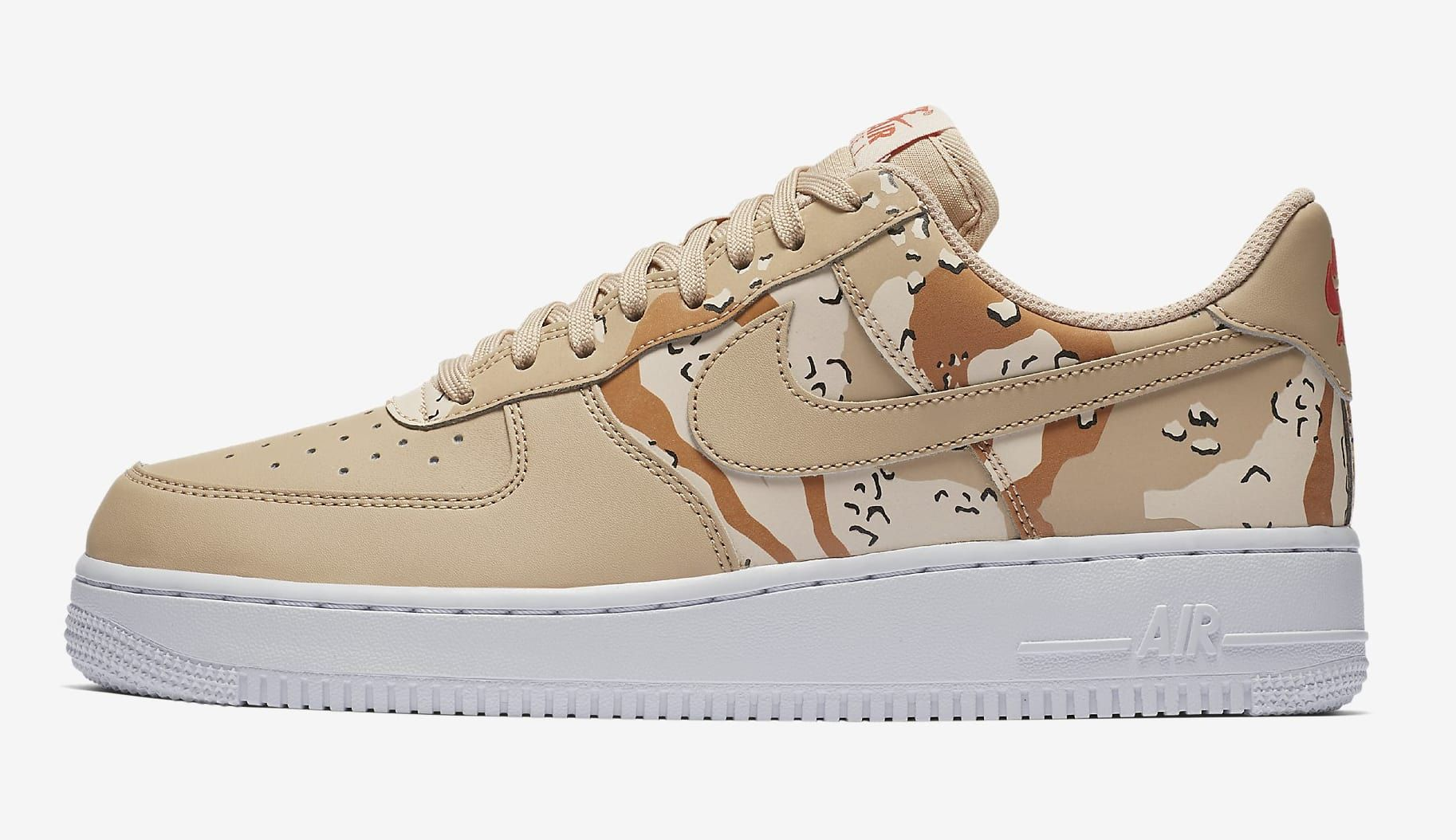 Nike Air Force 1 Low 'Country Camo' 823511 202 (Lateral)