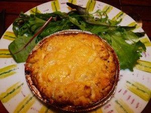 Un plat en trompe l'oeil : le cheesecake de patates douces et volaille au curry - Gourmicom