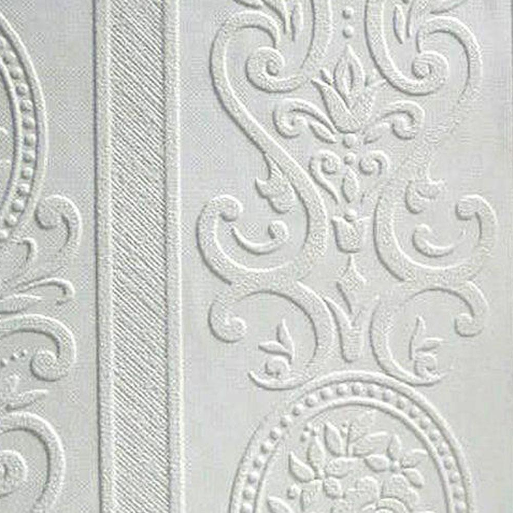 Anaglypta Louisa Paintable Textured Vinyl Wallpaper Sample