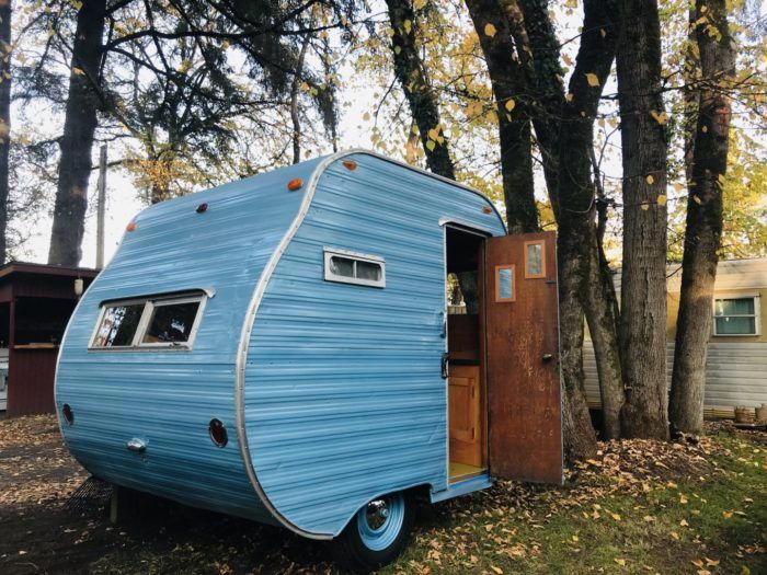 Vintage Trailer Resort >> This Vintage Trailer Resort In Washington Is Truly One Of A