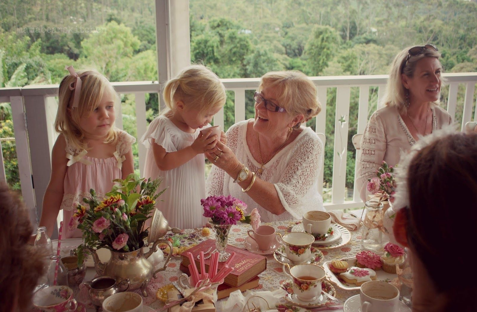 High tea Luncheon - Mama Bear's Kitchen