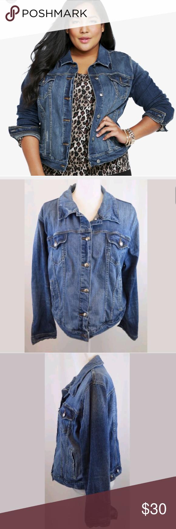 Torrid Jean Jacket Clothes Design Jackets Jean Jacket [ 1740 x 580 Pixel ]