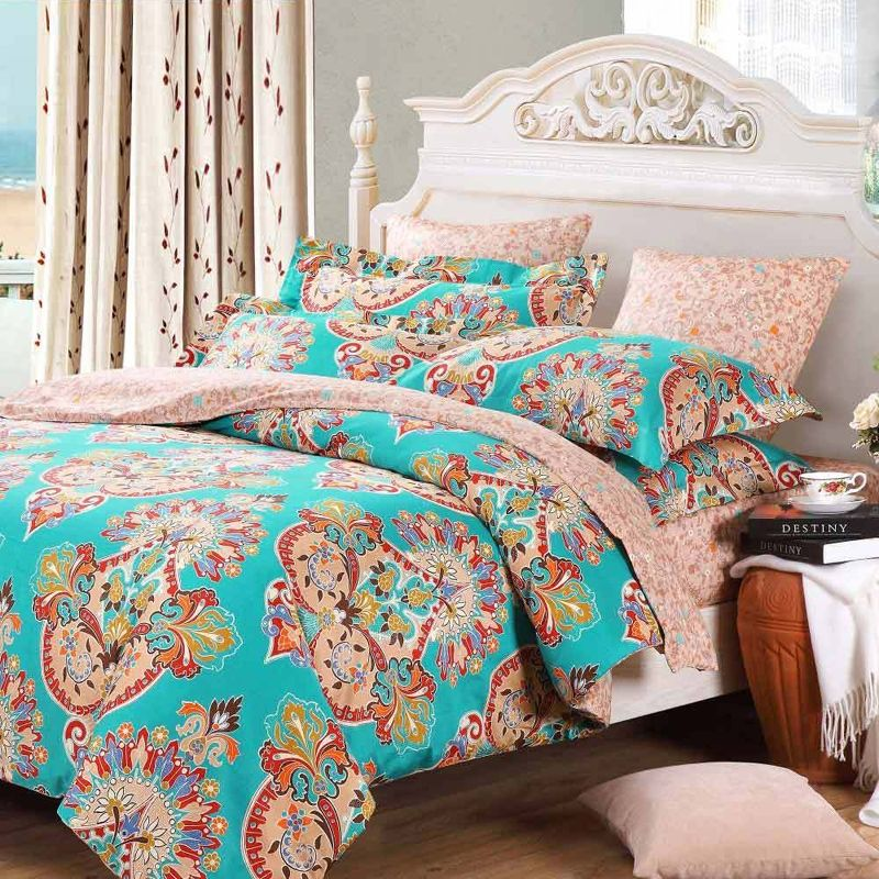 Best Bohemian Tribal Print Retro Chic 100 Cotton Bedding Sets 400 x 300