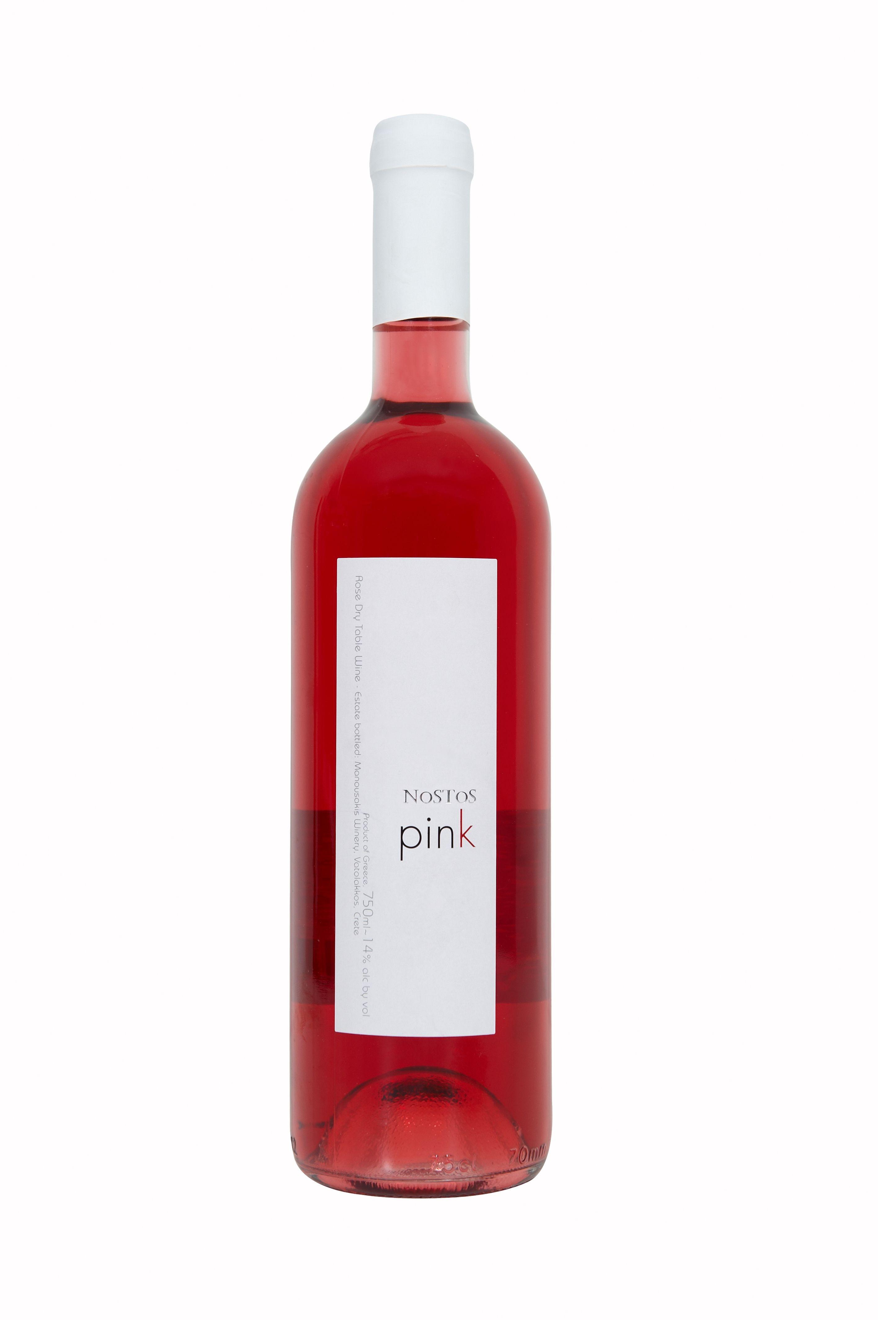 Nostos Pink Wijn Kreta Grieks
