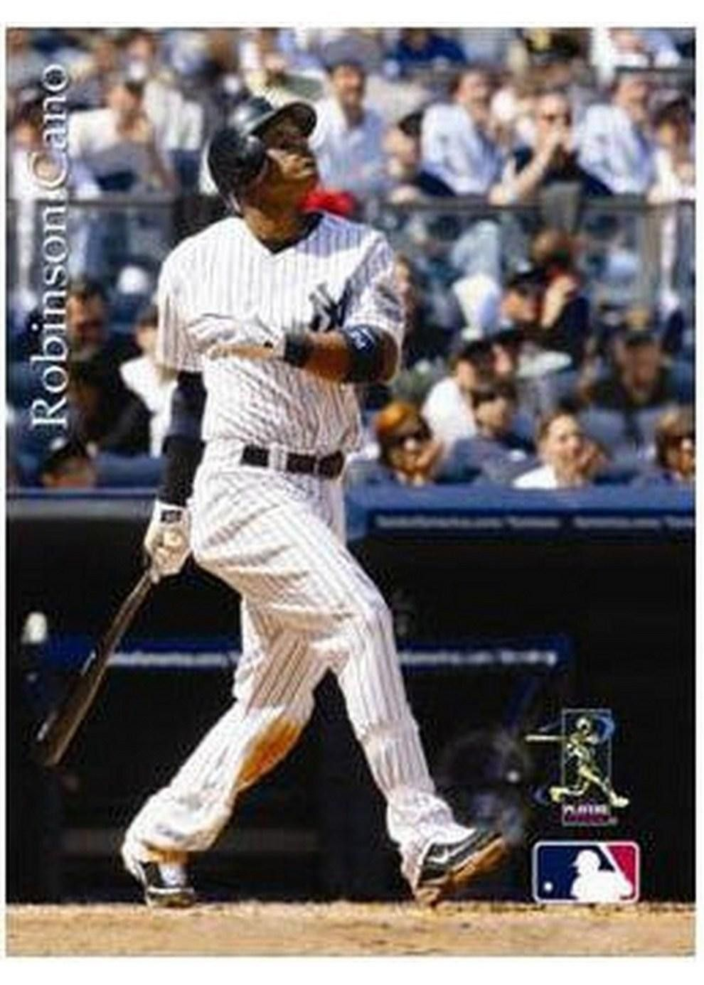 Mlb New York Yankees Artissimo Robinson Cano 8 X 10 Canvas Robinson Cano New York Yankees
