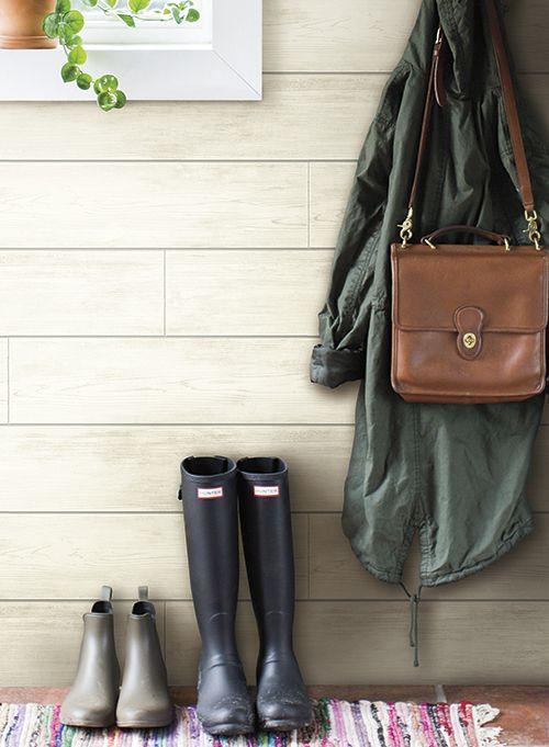 Joanna Gaines Plank, Boards, Industrial Wallpaper ...