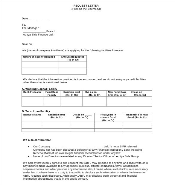 Loan Application Templates 7 Free Sample Example Format Download Free Premium Templates Application Letter Sample Lettering Letter Sample