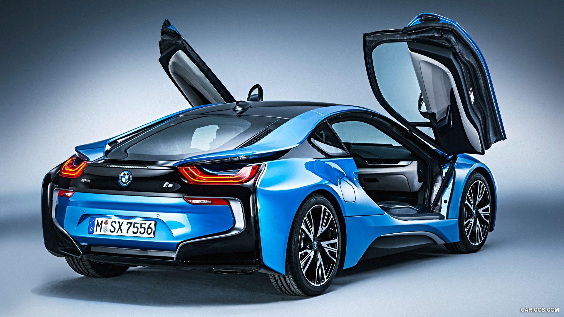 2015 BMW i8 Coupe Pure Impulse Rear