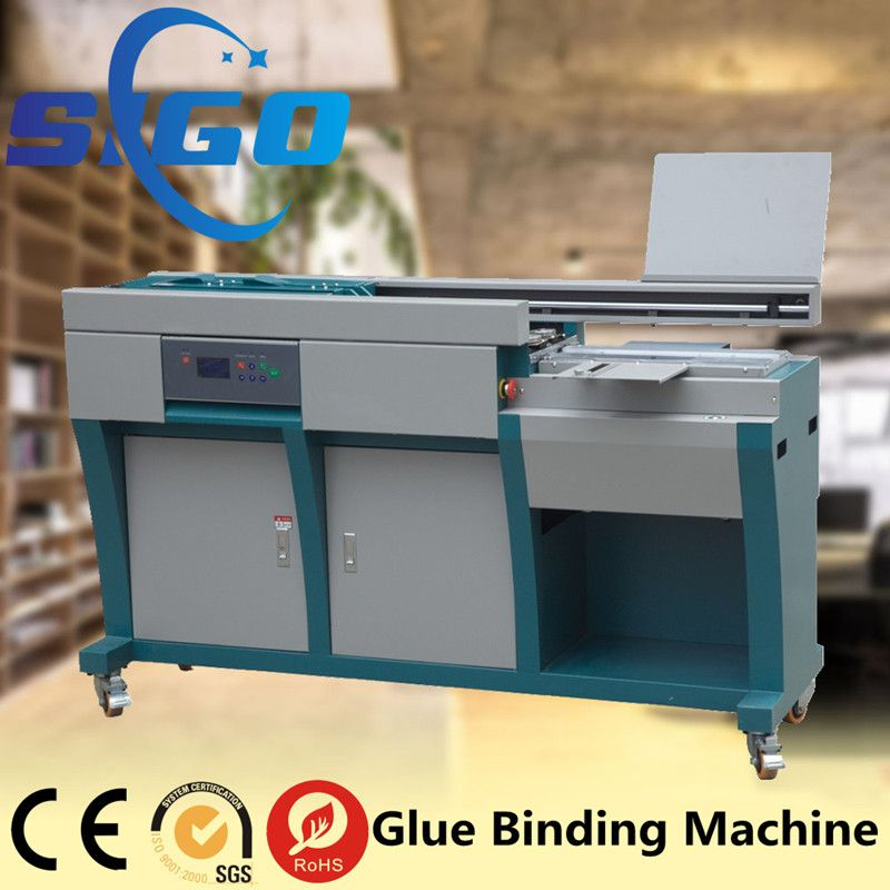 Automatic Hot Sale Wireless EVA Glue Binding Machine