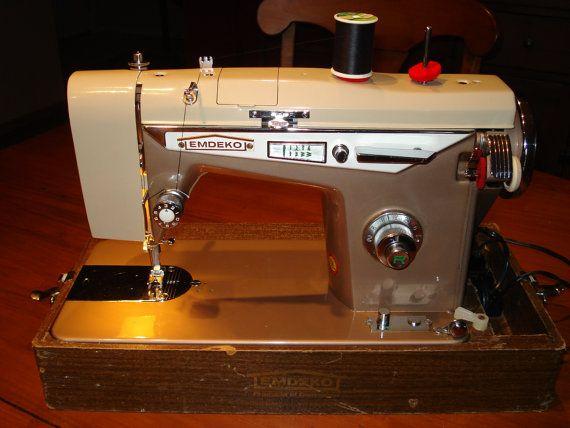 1960s Emdeko Sewing Machine By Lkwhatthecatdraggedn On