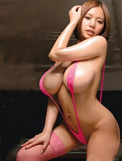 in bikini asian chick Busty