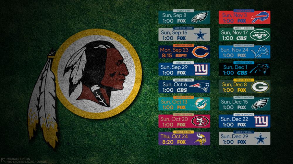 2019 Washington Redskins Wallpapers Pro Sports