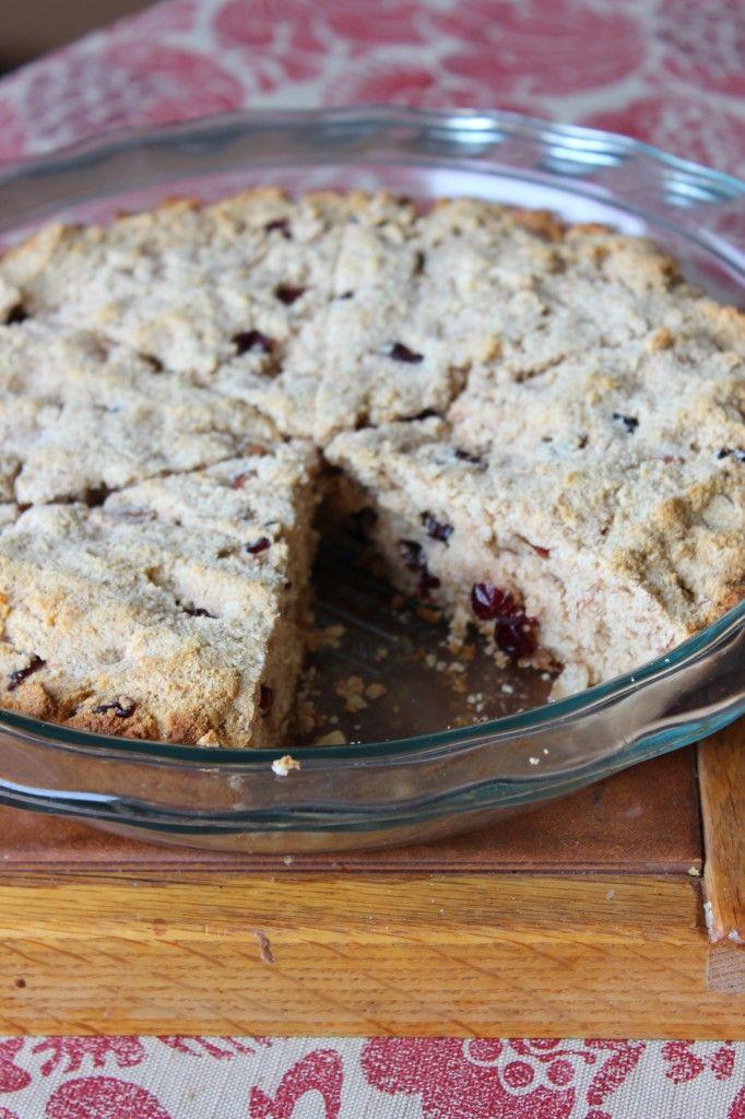 Whole Wheat Cranberry Almond Scones