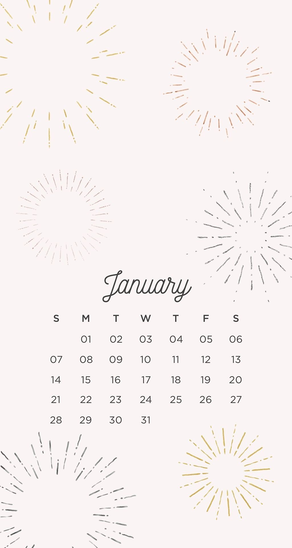 2018 new year January wallpapers  wallpaperss in 2019  January