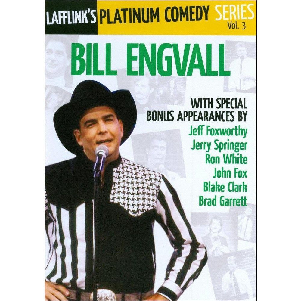 Lafflink's Platinum Comedy Series, Vol. 3: Bill Engvall (dvd_video)