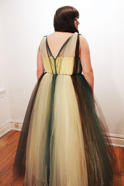 Prom Dress/Fallen Leaf: Back, via Flickr.