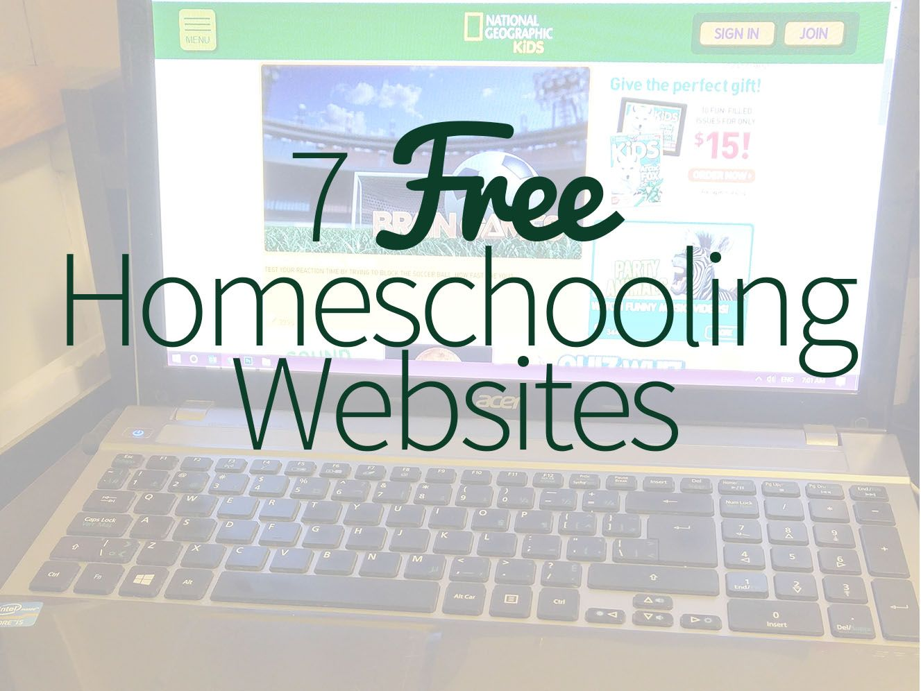 Photo of 7 Free Homeschooling Websites – Forgetful Momma